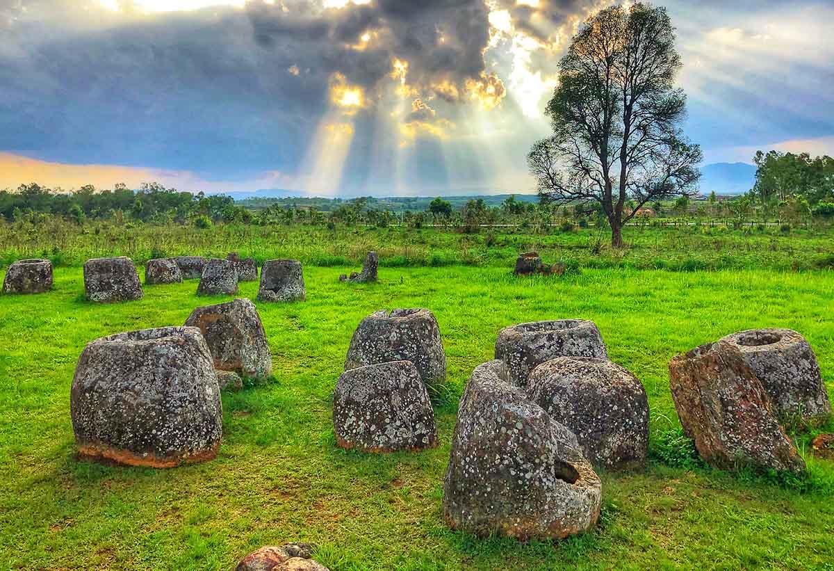 Di sản văn hóa thế giới Cánh đồng Chum  củaLào được Mỹ hỗ trợ bảo tồn 129.000 USD
