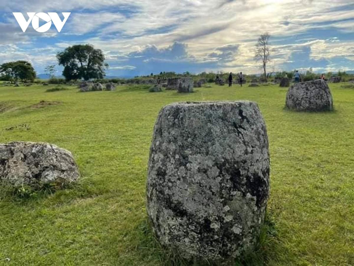 Cánh đồng Chum là di sản thứ 3 của Lào được UNESCO công nhận là di sản thế giới vào năm 2019.