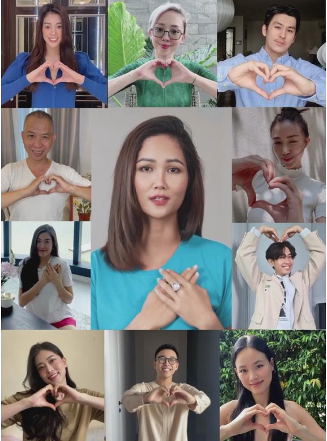 Các nghệ sĩ tham gia trong MV Sài Gòn sống như tia nắng mặt trời