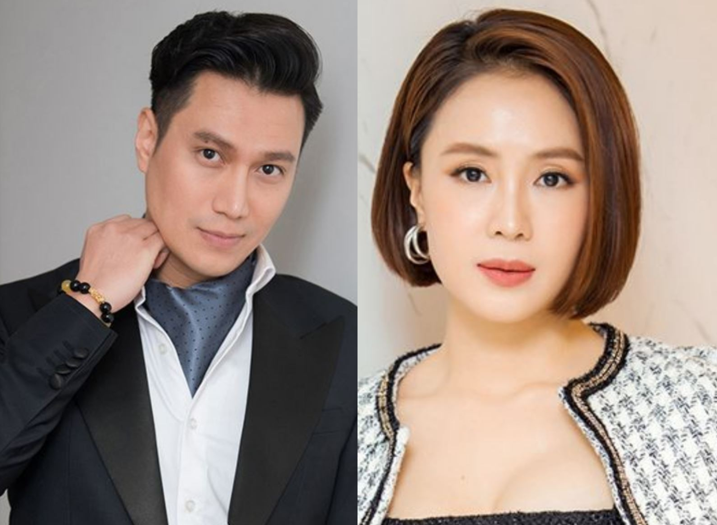 Diễn viên Việt Anh và Hồng Diễm được đề cử nam, nữ diễn viên ấn tượng. Ảnh: VTV.