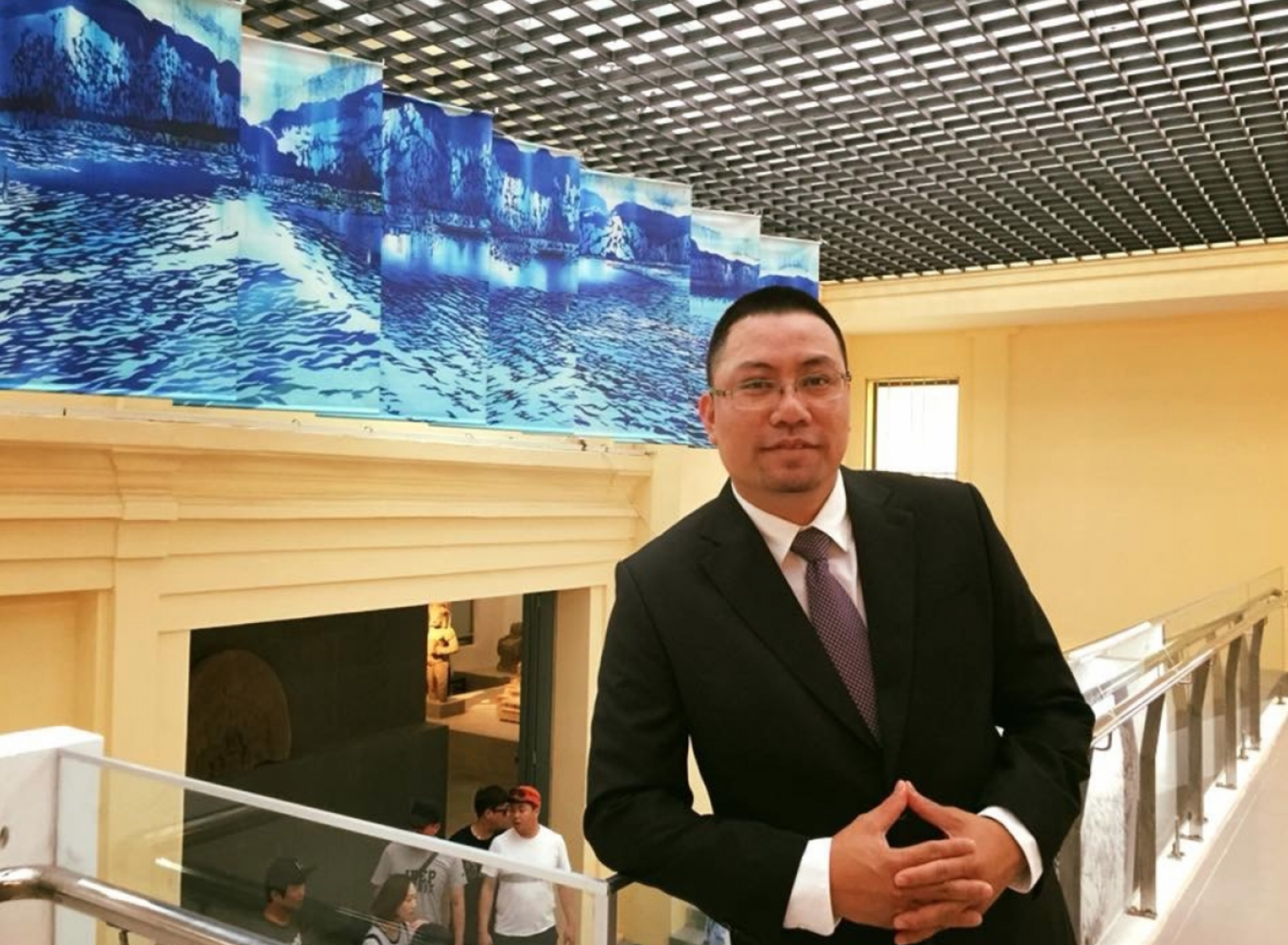 Chuyên gia quản trị và truyền thông văn hóa Nguyễn Đình Thành.