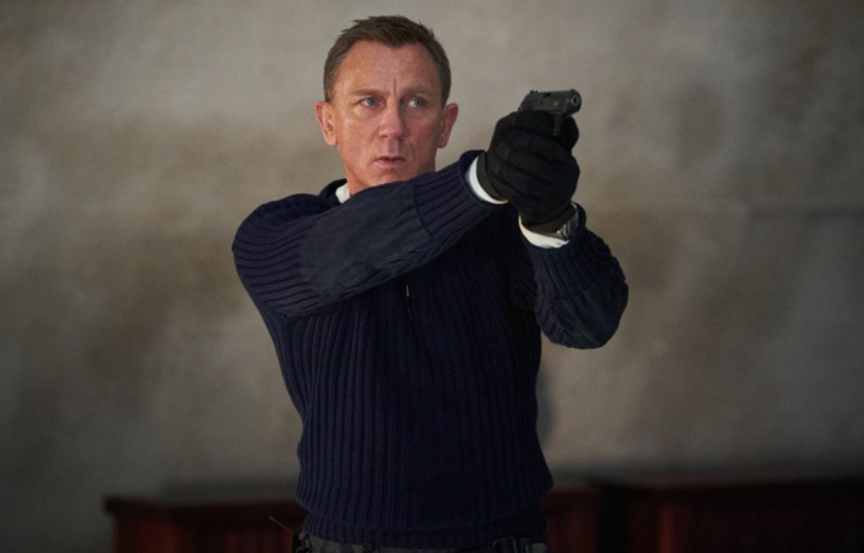 Bom tấn No Time To Die là tác phẩm cuối cùng mà tài tử Daniel Craig đóng James Bond  ẢNH: MGM