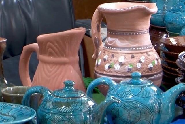Những chiếc bình bằng gốm của Afghanistan  ẢNH: WIKIPEDIA