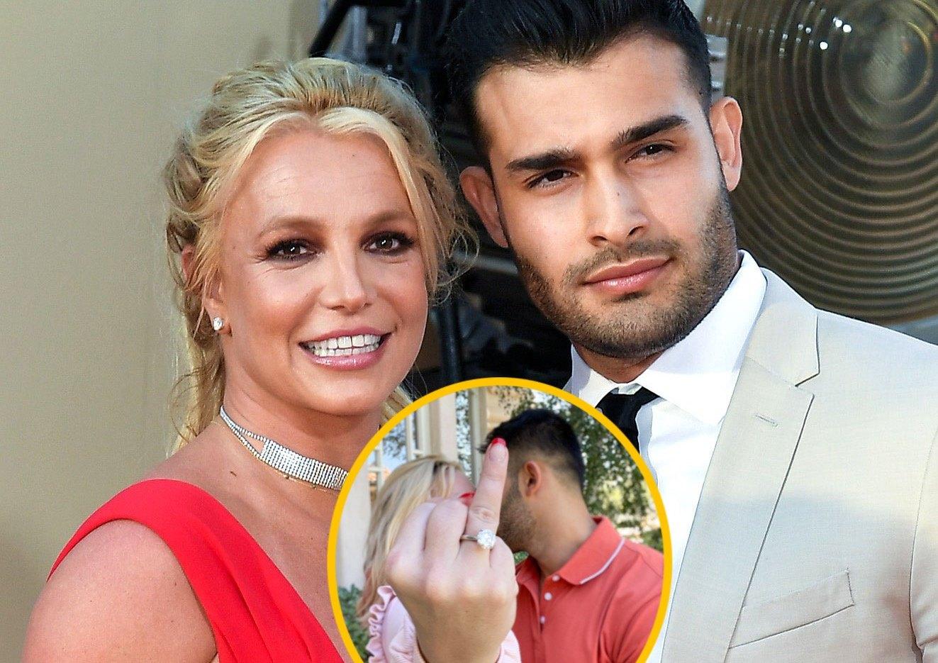 Britney Spears đính hôn với bạn trai kém tuổi