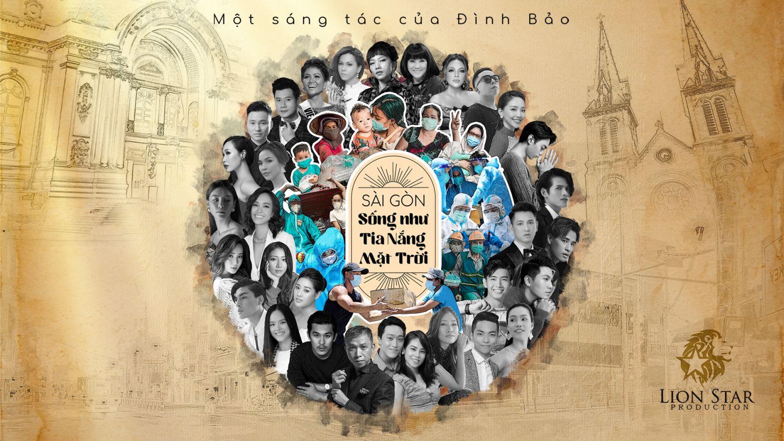 Nghệ sĩ Việt lan toả tình yêu thương qua MV 'Sài Gòn sống như tia nắng mặt trời'