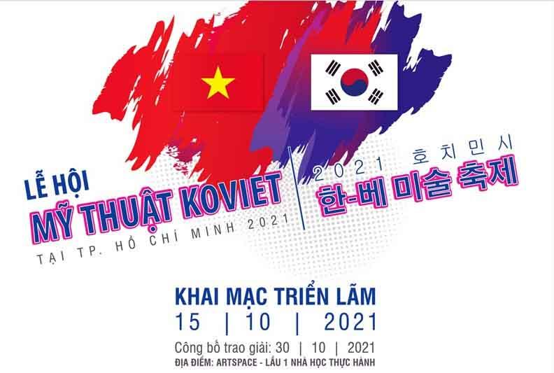 Lễ hội Mỹ thuật KoViet tại TP.HCM: Cuộc thi vẽ chủ đề 'Hòa bình'