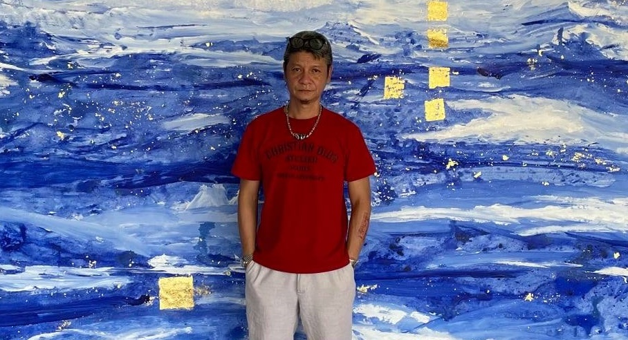 Bức họa 'Miền xanh' của Trần Nhật Thắng được bán hai lần góp quỹ chống COVID-19