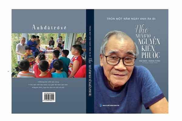 Tác phẩm mới 'Nhớ nhà báo Nguyễn Kiến Phước' vừa ra mắt