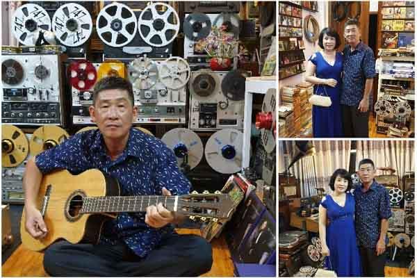 Nhà sưu tập Phương Chánh Hùng, người yêu tiếng hát lênh đênh