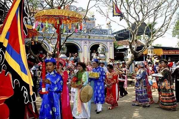 Đề nghị công nhận Lễ hội Đô thị Nước Mặn là di sản văn hóa phi vật thể quốc gia