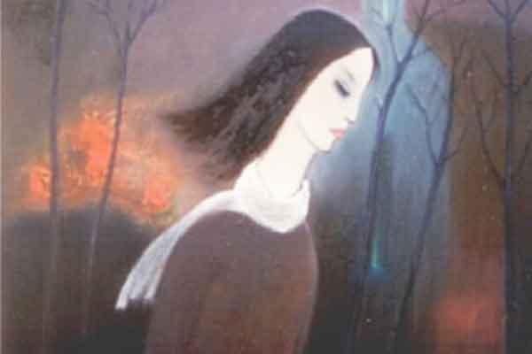 Giới thiệu thơ Liên Hoa: 'Em đi theo cơn mưa chua'