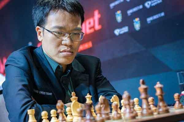 Lê Quang Liêm đánh bại kỳ thủ hạng 6 thế giới trên đất Mỹ