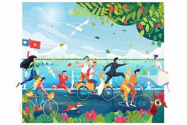 'Việt Nam phản chiếu' vẻ đẹp giản dị và bình yên qua góc nhìn của người trẻ