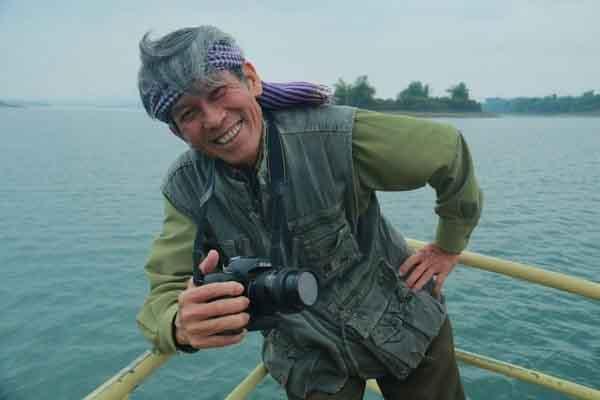 NSNA Trần Hồng - người 'vẽ' chân dung Đại tướng Võ Nguyên Giáp bằng ảnh