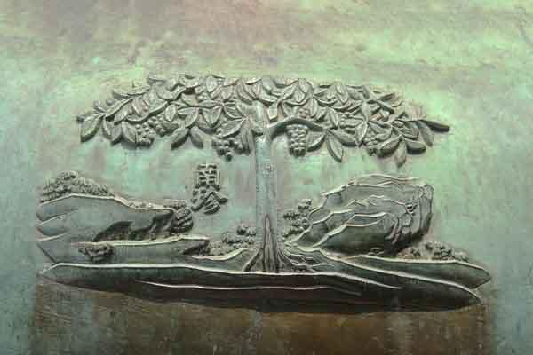 Vì sao cây bòn bon được chọn khắc trên Nhân đỉnh?