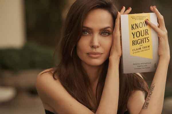 Angelina Jolie viết sách về quyền trẻ em