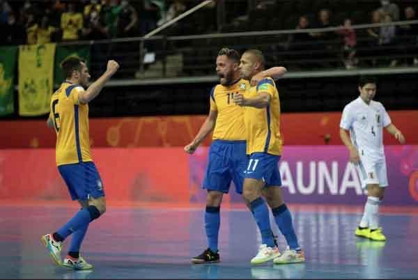 Kết quả futsal World Cup: Nhật Bản gây khó khăn cho Brazil