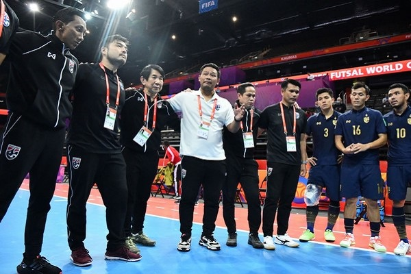 Kết quả futsal World Cup: Thái Lan thua trắng trước Kazakhstan