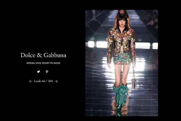 Nữ người mẫu từng bị đánh giá thấp tại Việt Nam trình diễn cho Dolce & Gabbana