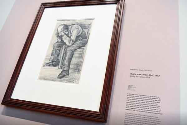 Công bố bức tranh chưa từng lộ diện của danh họa Van Gogh