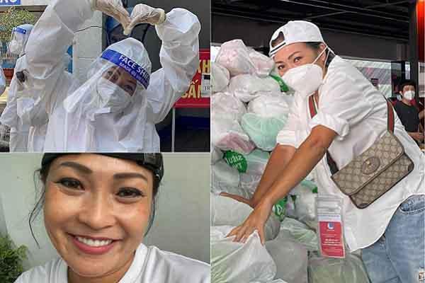 Phương Thanh và câu chuyện từ thiện 'không tiền bạc'
