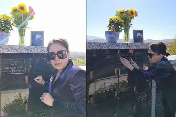 Việt Hương nghẹn ngào khi lần đầu đến thăm mộ Chí Tài