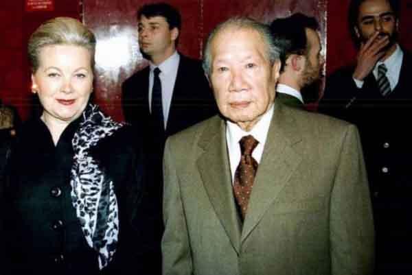 Cử hành tang lễ cho người vợ Pháp cuối cùng của vua Bảo Đại