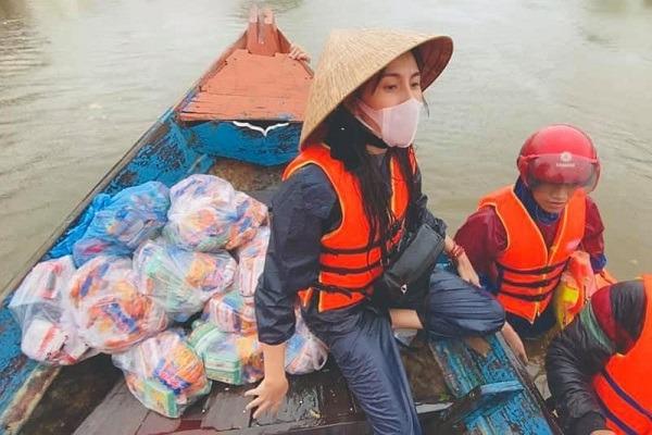 Bộ Công an phối hợp 7 tỉnh miền Trung xác minh hoạt động từ thiện của Thủy Tiên