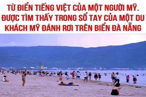 Từ điển tiếng Việt của một người Mỹ du lịch ở Việt Nam