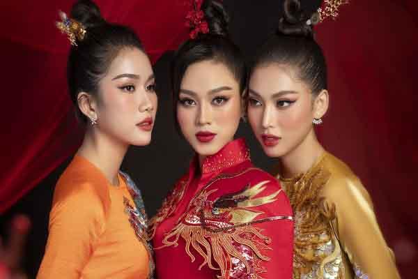 Áo dài retro lên ngôi, top 3 Hoa hậu Việt Nam 2020 nhanh chóng bắt kịp xu hướng