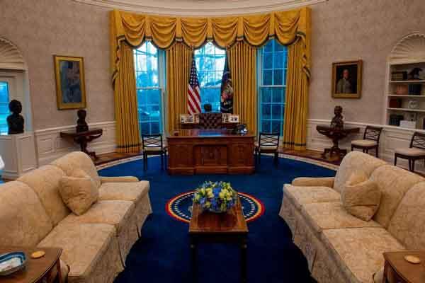 Bên trong Phòng Bầu dục - căn phòng quyền lực của Tổng thống Mỹ
