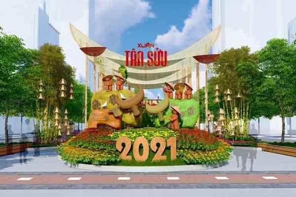 Những lễ hội, đường hoa Xuân thu hút khách ở Sài Gòn vào dịp Tết