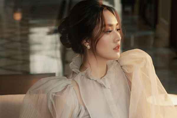 Hậu kết hôn, Á hậu Tường Sang khoe sắc 'vạn người mê'