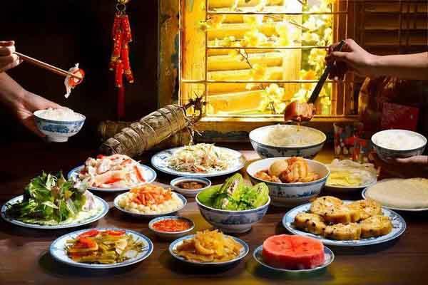 Sự khác nhau trong mâm cỗ tết truyền thống 3 miền Việt Nam
