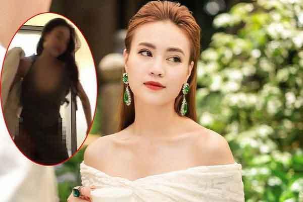 Ninh Dương Lan Ngọc nói về clip 'nóng': Không phải tôi!