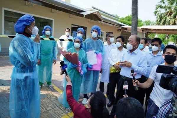 Campuchia ghi nhận thêm 3 người Việt Nam nhiễm COVID-19