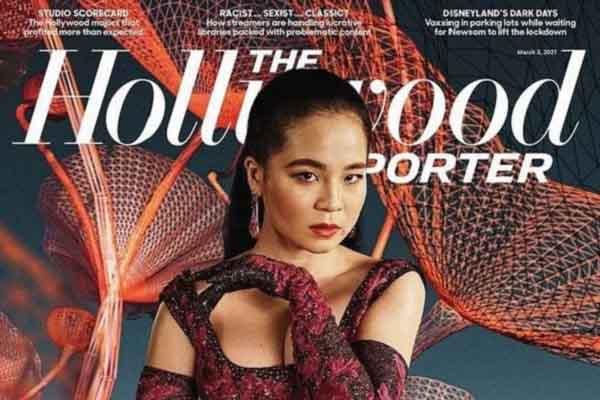 'Công chúa Disney' gốc Việt diện trang phục Công Trí xuất hiện trên bìa báo Mỹ
