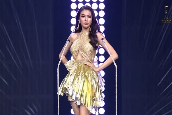 Á hậu Ngọc Thảo ghi tên mình vào top 20 Miss Grand International 2020