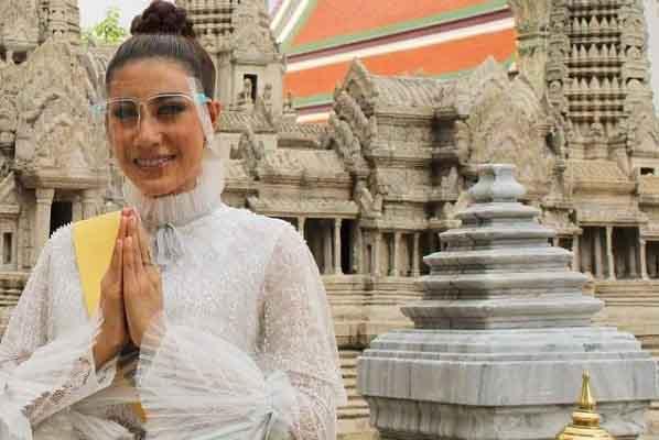 Miss Grand 2021: Hoa hậu Campuchia lọt thẳng vào top 20 nhờ bình chọn của khán giả