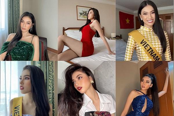 'Soi' layout cách ly của Á hậu Ngọc Thảo tại Miss Grand International 2020