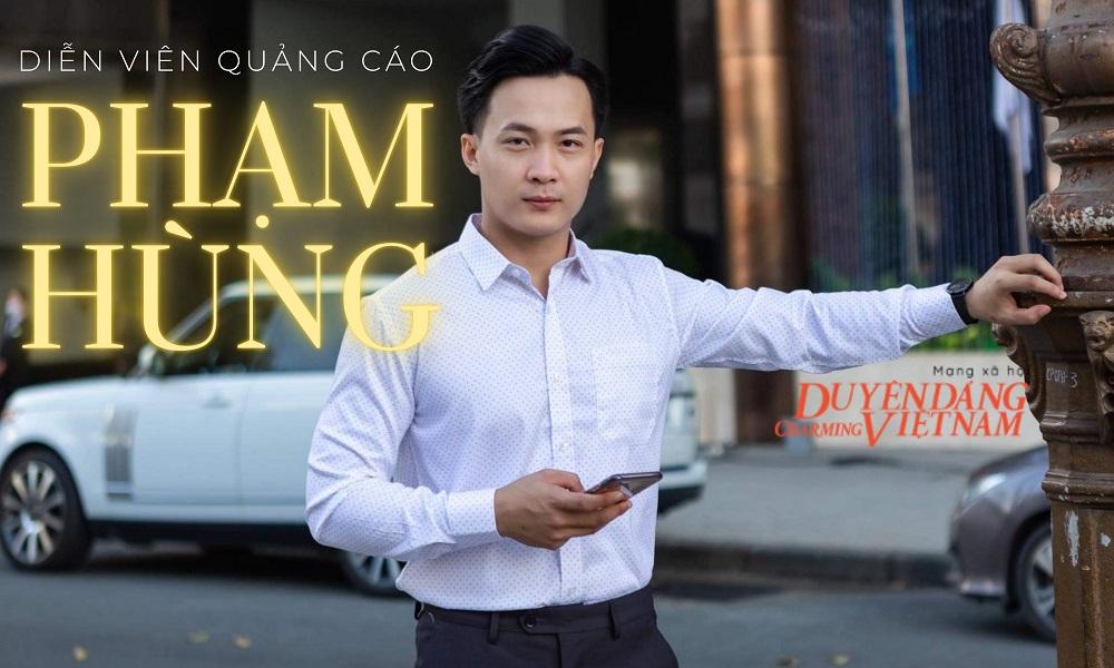 'Diễn viên quảng cáo' Phạm Hùng: 'Phải biết cách biến áp lực thành động lực'