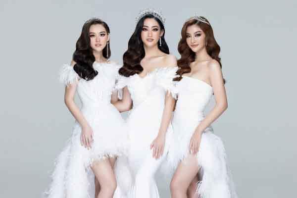 Lương Thuỳ Linh, Kiều Loan, Tường San đọ sắc sau 2 năm đăng quang Miss World Vietnam