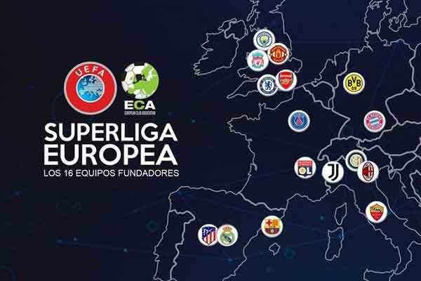 12 CLB hàng đầu châu Âu quyết lập Super League mặc UEFA đe dọa, lộ diện nhà tài trợ chính