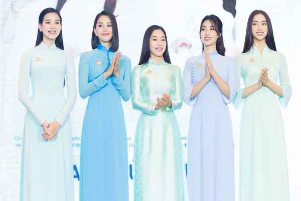 4 hoa hậu là chủ tịch danh dự câu lạc bộ từ thiện là ai?