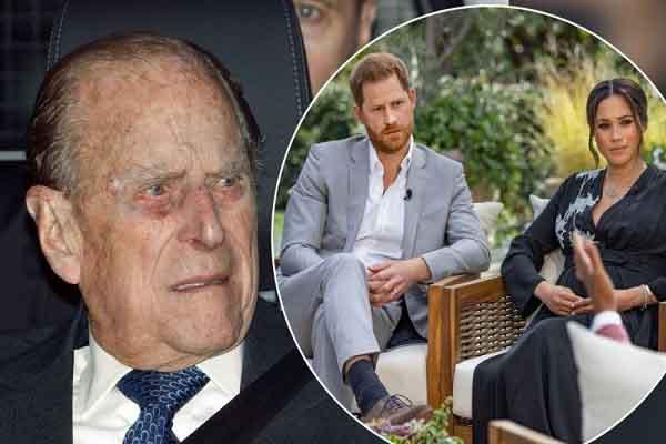 Harry – Meghan làm Hoàng thân Philip buồn bực trước khi qua đời