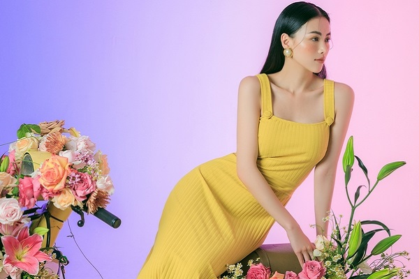 Hoa hậu Phương Khánh gợi ý trang phục bắt trend hè 2021