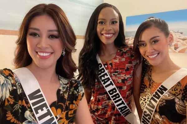 Người đẹp Miss Universe 2020 thích thú khi diện 'đồ bộ đúng chợ' của Việt Nam