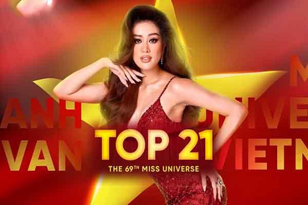 Hậu Miss Universe 2020, Khánh Vân chưa quyết định được ngày trở về Việt Nam