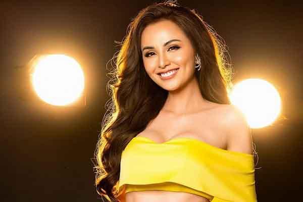 Hoa hậu Diễm Hương tái xuất với vóc dáng sexy