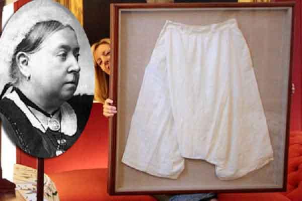 Nội y của Nữ hoàng Anh được đem ra bán đấu giá
